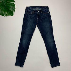 Lucky Brand Lolita Skinny Sz 8/29 Dark Wash Jeans